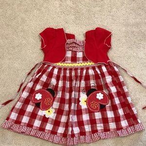 Youngland Ladybug dress